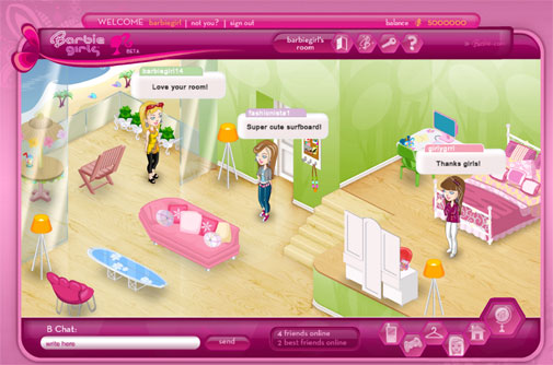 barbiegirl1 BarbieGirls.com Launched Worldwide Today! FREE Online Community Entertains Girls With Fashion and New Friends