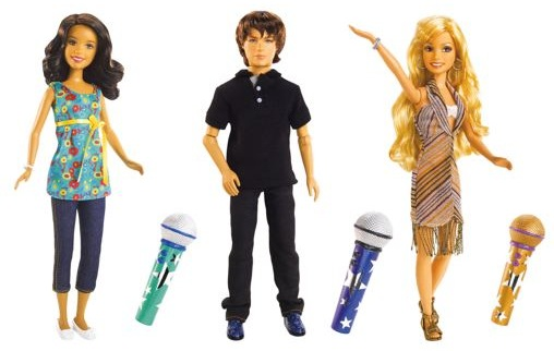 hsm 2 sing together doll as1 Toy Fair 2008: Mattel Line up