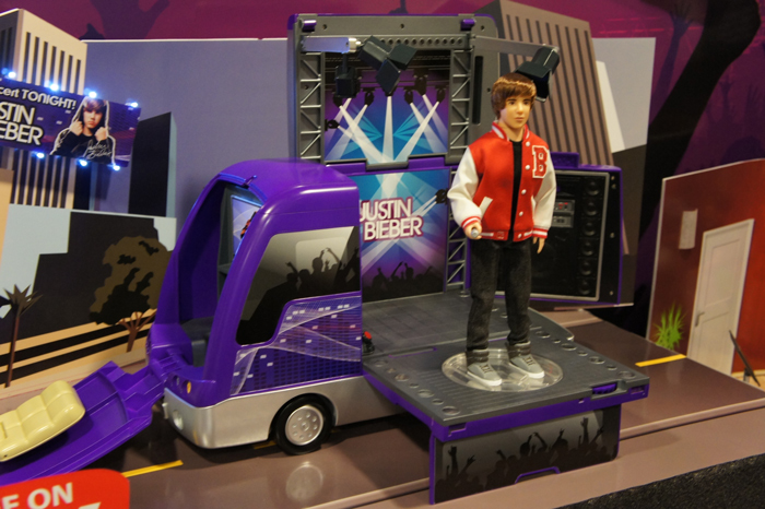 justin bieber tour bus toy. Line of Toys and Tour Bus