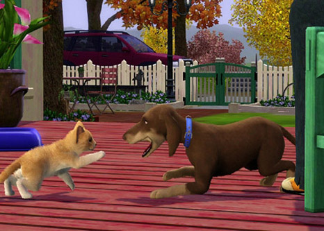 The Sims 3 Pets is a Video